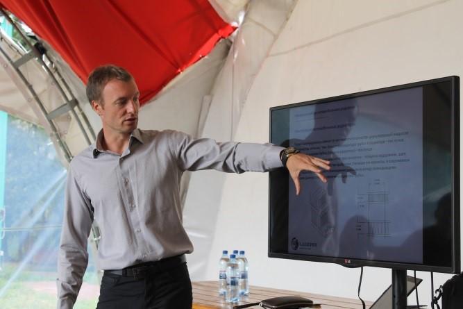 Директор по маркетингу бренда LUZAR Петр Нечипоренко
